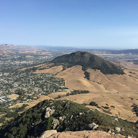Bishop Peak: Hiked it yesterday and it was great, I like starting on Highland walking under the Oaks