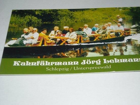 Kahnfahrmann Jorg Lehmann