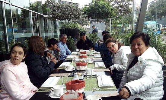Reunión Familiar En Un Lindo Lugar Picture Of Hilton Lima