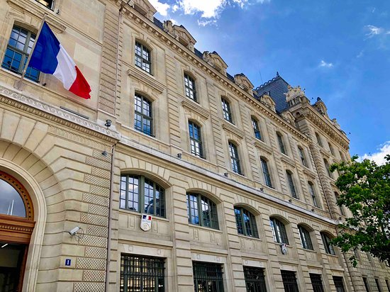 plaque 50th anniversary of the uprising photo de prefecture de police de paris paris. Black Bedroom Furniture Sets. Home Design Ideas