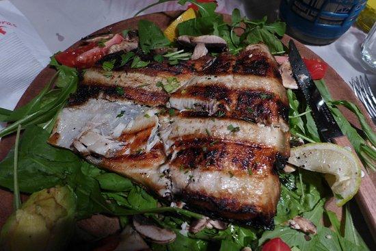 Las Cabras: grilled fish