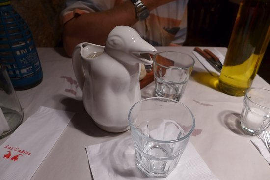 this duck is happy to pour your wine