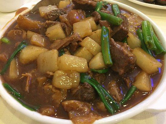 Rowland Heights, Kalifornien: Beef Stew with turnip 蘿菠牛腩