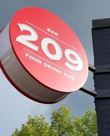 Outside,  Bar 209