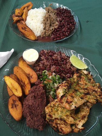 Benson, Северная Каролина: Pabellon and Grilled Chicken