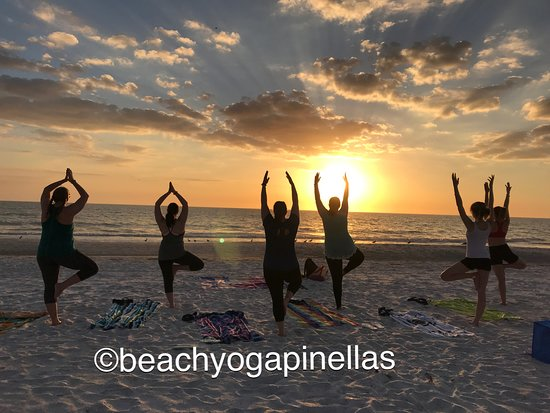 Beach Yoga Pinellas