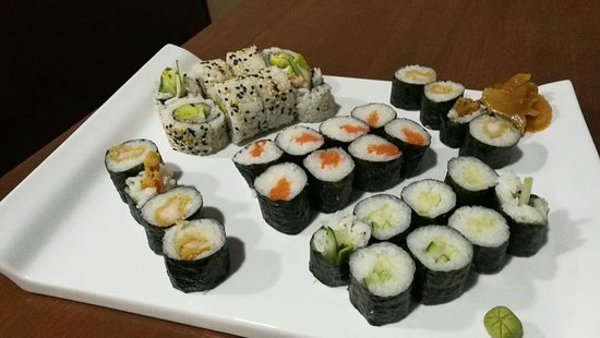 Kaiseki Sushi Restaurant: The best sushi of sucre!!!!