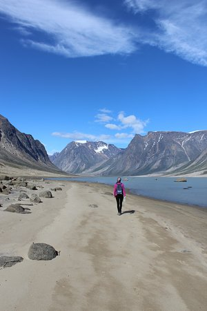 Pangnirtung, Canada: Day hike in Auyuittuq National Park