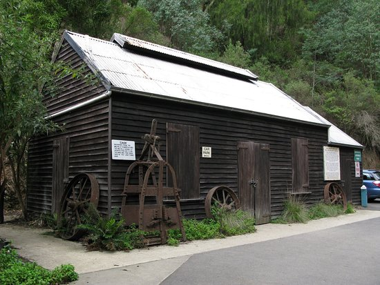 Walhalla, Australia: interesting artifacts