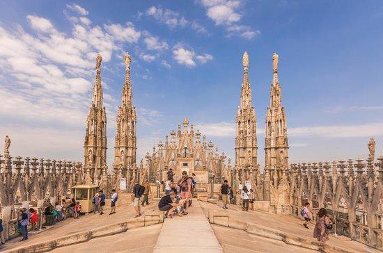 Excursão de Telhado no Duomo de Milão