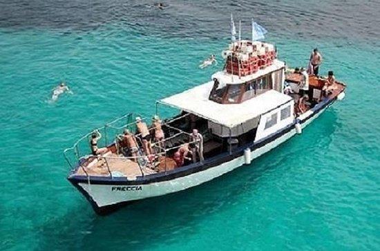 AlgheroからGrotte di Nettunoまでのモーターボート、入…