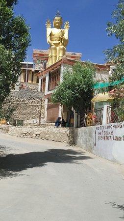 Alchi Monastary: Budda statue