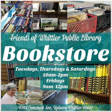 Friends of The Whittier Public Library Bookstore