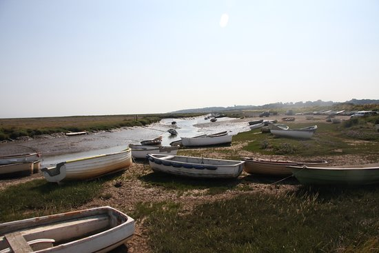 Tides out at Blakeney Point