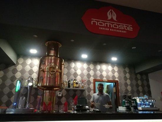 Namaste indian Restaurant: Interior Barra