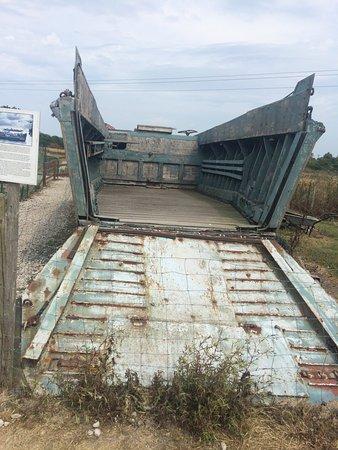 Maisy Battery: Landing craft