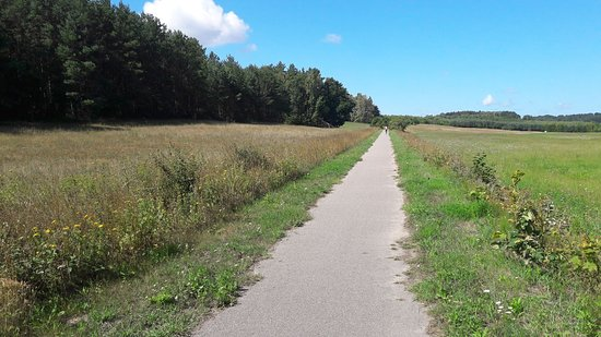Swarzewo - Krokowa bicycle path