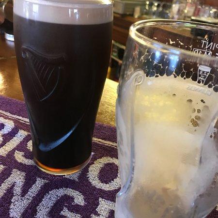 Bexhill-on-Sea, UK: Lovely drop of Guinness at the bull inn