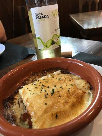 Leiza, Spain: Bacalao Gratinado