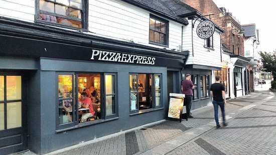 Shop Front In July 2018 Picture Of Pizza Express Horsham