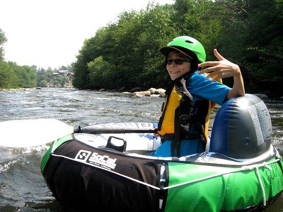 SoCal Rafting: My 13 year old Grandson enjoying to adventure