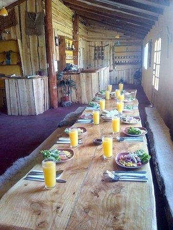 Bahia Murta, Cile: Resturante