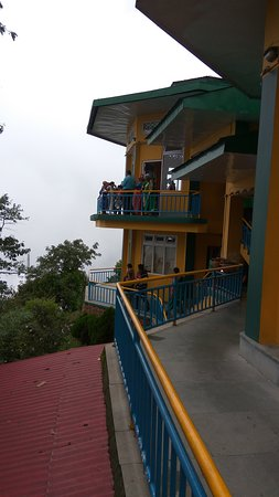 Ganesh Tok View Point: Balcony