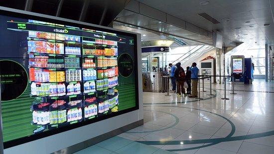 Dubai Metro line beyond Burj Kalifa to UAE exchange