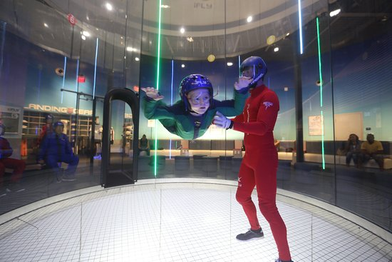 iFLY Indoor Skydiving - Atlanta: First skydive flight training formy 7 year old grandson...it was awesome!