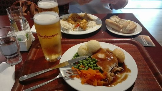 Typrical Carvery Lunch - Review of Dooleys Restaurant