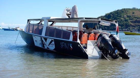 Nosy Tanihely, Madagascar: Imbarcazione del Resort per l'escursione