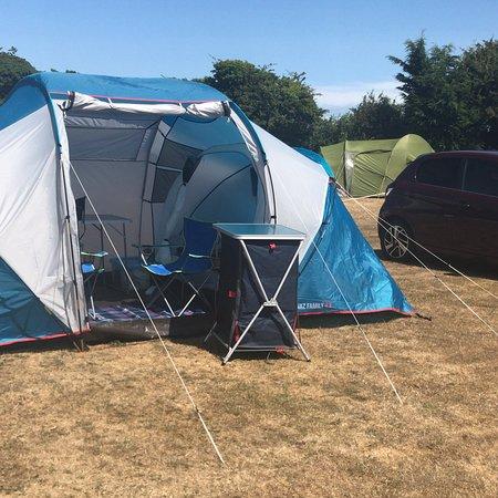 Belton, UK: A quiet, well kept campsite