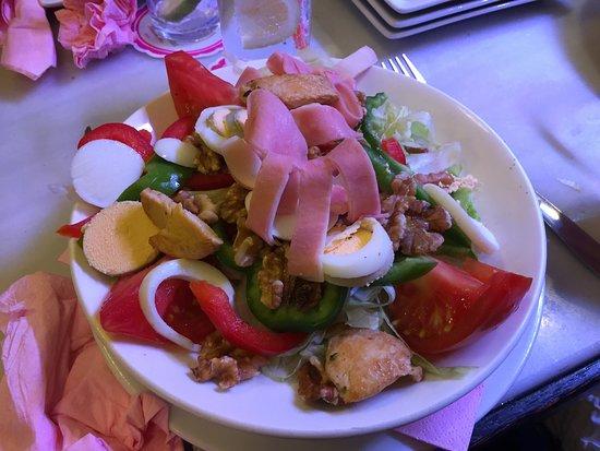 Canaletas: Plat de salade