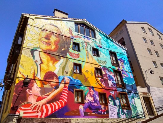 Mural La luz de la Esperanza