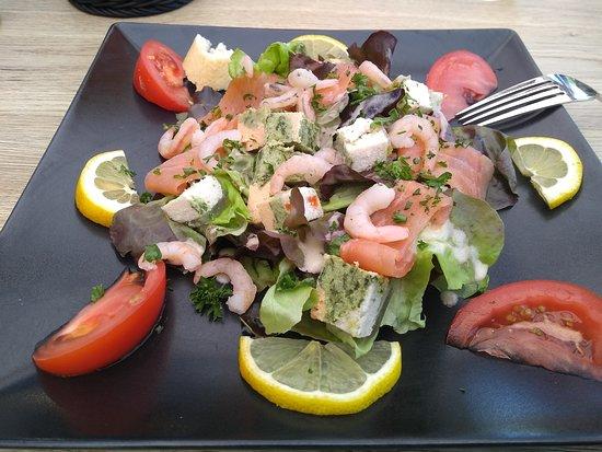 Tournehem-sur-la-Hem, Francia: salade oceane