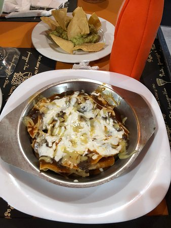 El Moro: Mole chips and cheese. Best mole on the island.
