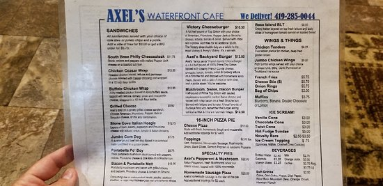 South Bass Island: Cafe located across from South Bass State Park Entrance/Office.