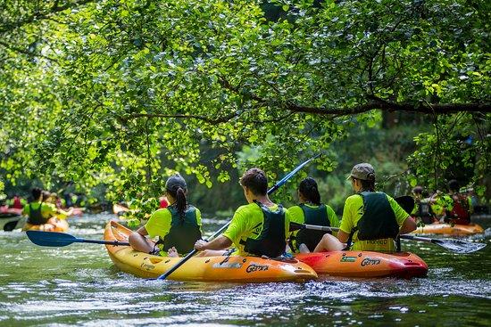 Caminha, Portugal: Descida do Coura em Kayak