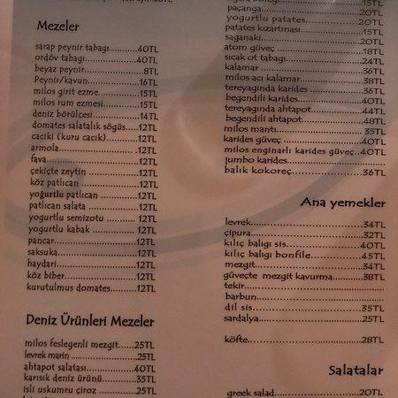 Milos restaurant Resmi