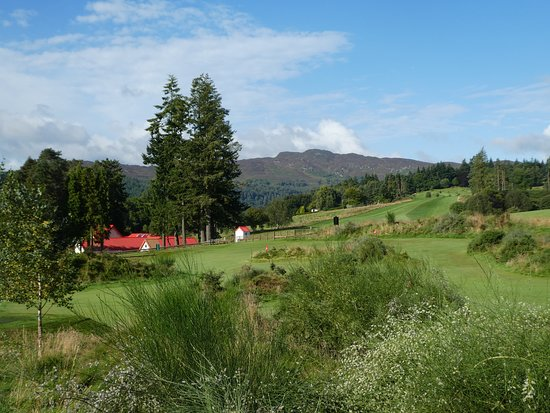 Pitlochry Golf Club: Clubhouse from the east