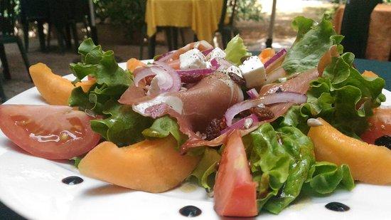 Le Pinocchio: Salade 'aoutienne'