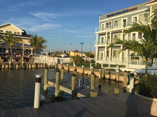 Fairfield Inn & Suites by Marriott Chincoteague Island Waterfront: View from the dock