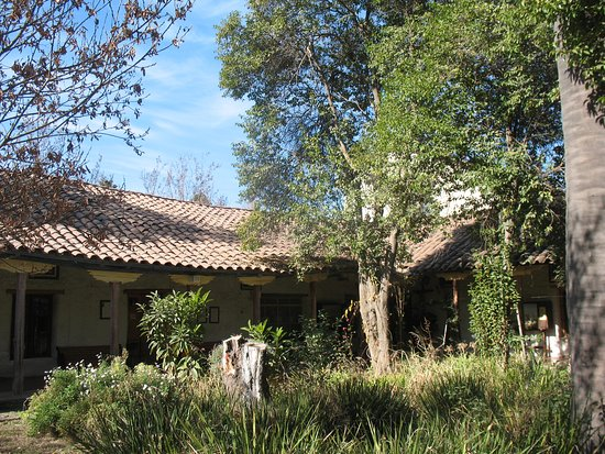 Curimon, Chile: Patio del convento