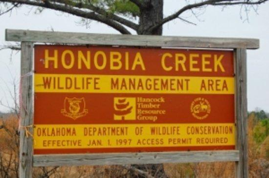 Honobia Creek Wildlife Area