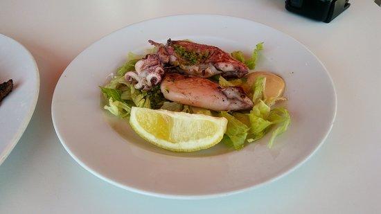 Stilo Campo: calamar a la plancha