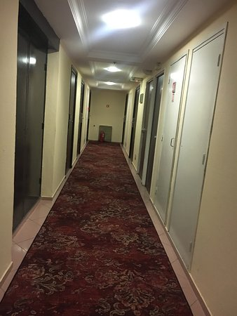 Something seedy about this hotel