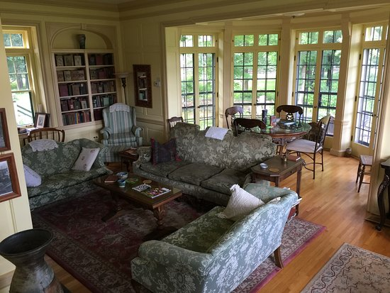 Deerwood, MN: The reading room. Perfect spot for taking in a good book.