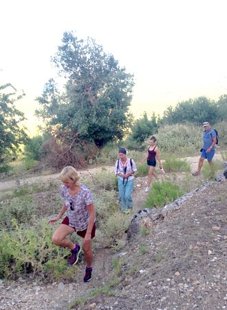 Words & Walks: Climbing into the ruins of the Palace of Odysseus