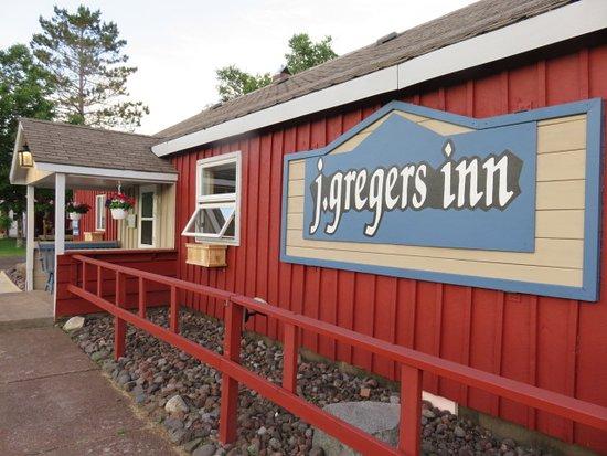 J. Gregers Inn: Front of the Inn