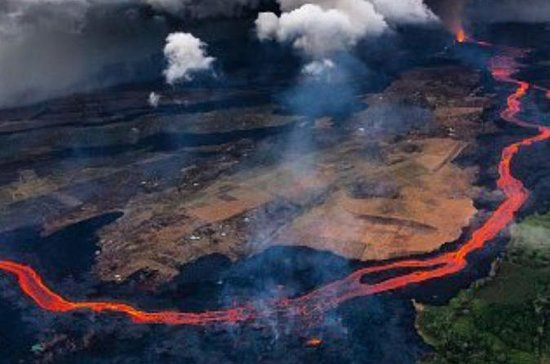Flight Lesson to Big Island Volcano!